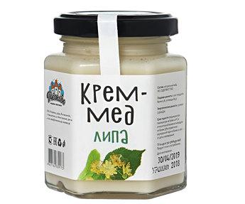 Крем мёд  липовый 250гр
