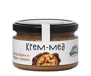 Крем мёд с шоколадом и грецким орехом 300гр